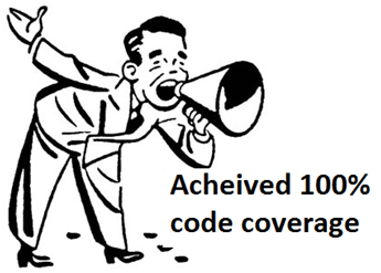 Acheived 100% code coverage